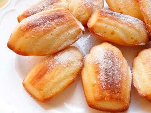 Печенье мадлен рецепт с фото без формочек